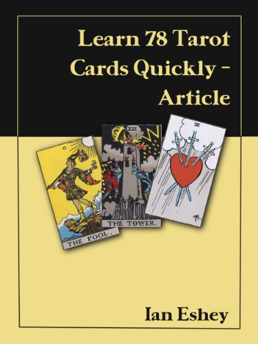 Learn 78 Tarot Cards Quickly (article)