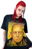 Michael Shaffer Aleister Crowley T-Shirt Large Black