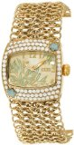 EOS New York Women's 95LGLDWHT Empress Swarovski Accent Watch