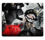 Black Rock Shooter Chariot Anime Gaming Mouse pad Mousepad