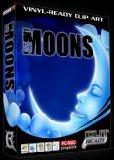 Moon EPS Vector Sign Clipart Moons