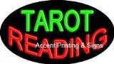 Tarot Reading Flashing Neon Sign (Glass Tubing)